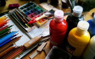 My baby the Artist!
